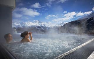 Kulm Hotel St Moritz, Switzerland: Ski-spa hotel review