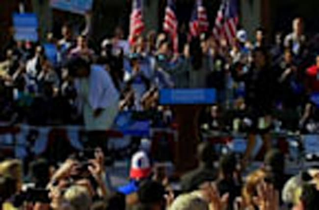 Clinton Rallies with 'Mothers of the Movement'