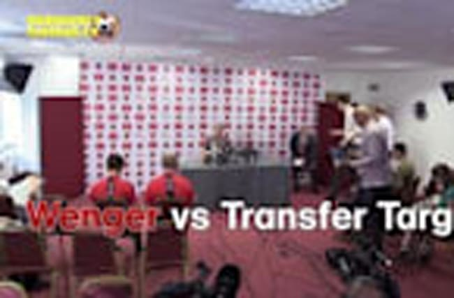 Wenger vs Transfer Targets