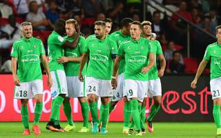 Paris Saint-Germain 1 Saint-Etienne 1: Stoppage-time Beric leveller denies Emery's men
