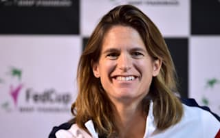 Pregnant Mauresmo steps down as France's Fed Cup captain
