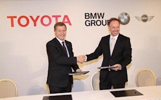 BMW and Toyota announce diesel engine tie-up