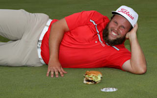 Golfer Johnston agrees to 'birdie, beer and beef triathlon'