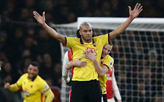 Arsenal 1 Watford 2: Hornets' ex-Spurs contingent damage Gunners' title bid