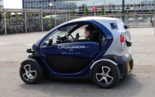 UK's driverless car trials begin in Milton Keynes