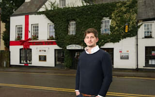 Welsh locals furious over Christmas bow on pub
