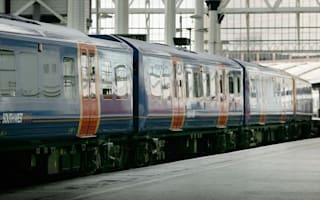 Station worker 'injured by flying body' after man jumps in front of train