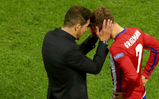 No security over Griezmann's Atletico future, warns Simeone