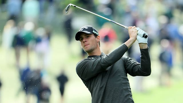 Pieters' patience, talent gets him share of Masters lead