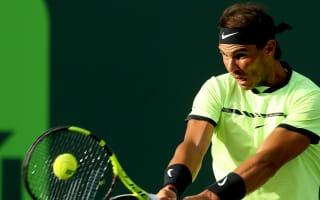 Nadal celebrates routine success over Sela