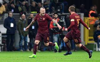 Inter 1 Roma 3: Nainggolan at the double in dominant display