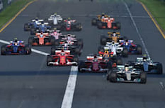 Who won the first Formula 1 Grand Prix of the season?