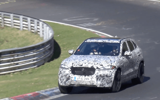 Watch as Jaguar tests raucous new hot SUV