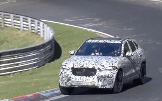 Watch as Jaguar tests raucous new hot SUV