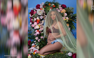 Beyonce reveals she is pregnant with twins