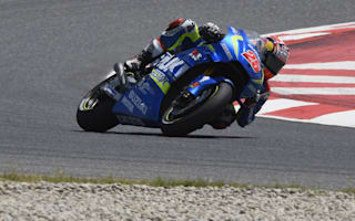 Vinales in full flow after 'Waterfall' crash at Sachsenring