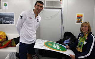 Rio 2016: Phelps asks Ledecky for autograph
