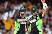 Klinger, Finch and Zampa restore some Aussie pride