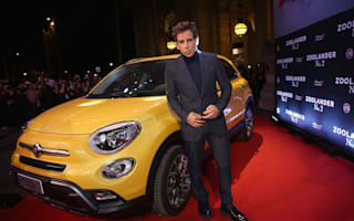 Fiat 500X pulls its best 'Blue Steel' pose on the red carpet