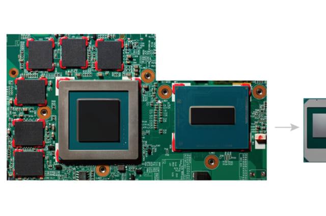 Intel fusiona gráficos AMD, RAM y una CPU en un único módulo