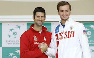 Djokovic returns for Serbia, Murray sits out