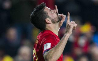 Macedonia 1 Spain 2: Silva and Costa keep visitors on top