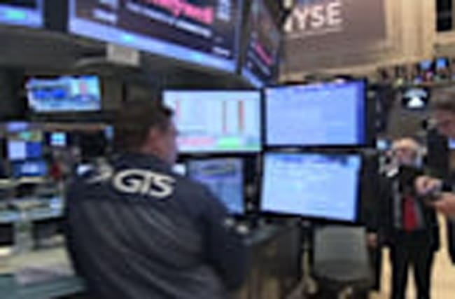 Bank rally drives Wall Street higher