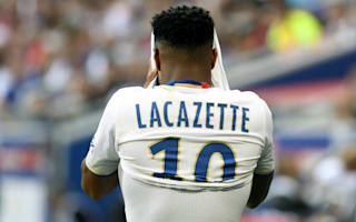 Lacazette needs time, says Lyon boss Genesio