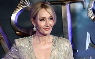JK Rowling graces the blue carpet for Fantastic Beasts premiere