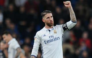 Real Madrid captain Sergio Ramos happy to see Barcelona lose