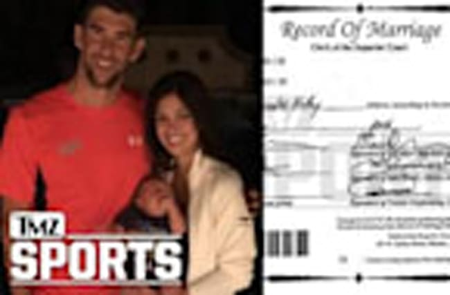 Michael Phelps is Secretly Married