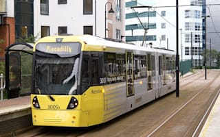 Teens pictured smoking 'crystal meth' on tram in Manchester