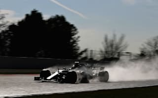Mercedes hit first signs of trouble on wet-weather test day