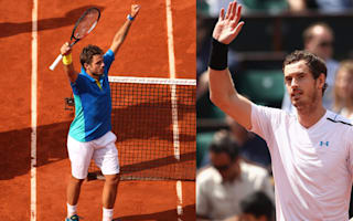 Murray and Wawrinka take their places as last-eight line-up completed