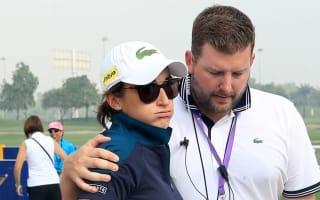 Play suspended after caddie dies at Dubai Ladies Masters
