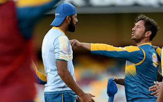 Yasir and Wahab square up on eve of Test