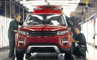 Land Rover factory works around the clock