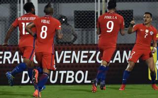 Venezuela 1 Chile 4: Vidal, Pinilla braces see Pizzi's men to win