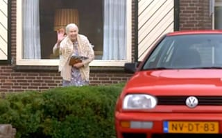 Video: Dutch Volkswagen advert says you can't even trust old ladies