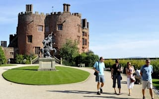Powis Castle named best National Trust walk in the UK