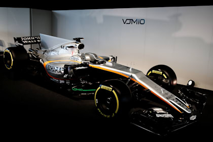 Guide to the 2017 Formula One cars -  Force India VJM10