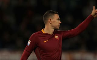 Dzeko on target as Roma stay on Juve's tail