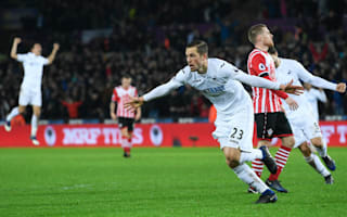 Swansea City 2 Southampton 1: Sigurdsson the saviour as Swans make it two in a row