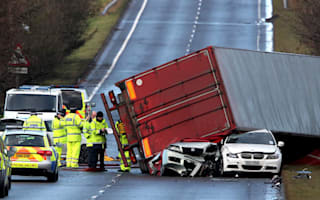 Lorry drivers want high-winds ban