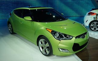 Hyundai Veloster makes its Detroit debut