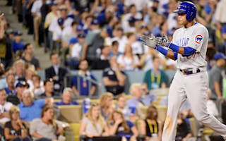 Cubs end slump to level with Dodgers