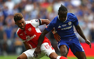 Moses sent off following dive in FA Cup final