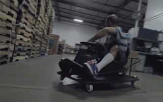 Crazy Cart XL: The ultimate xmas present for green petrolheads