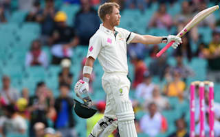 Warner makes history as third Test is drawn