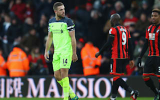 Liverpool join unfortunate group after Bournemouth collapse